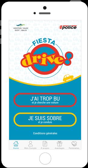 Fiesta Drive car-sharing application