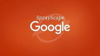 L'ovni de l'année : Google lance Sprayscape